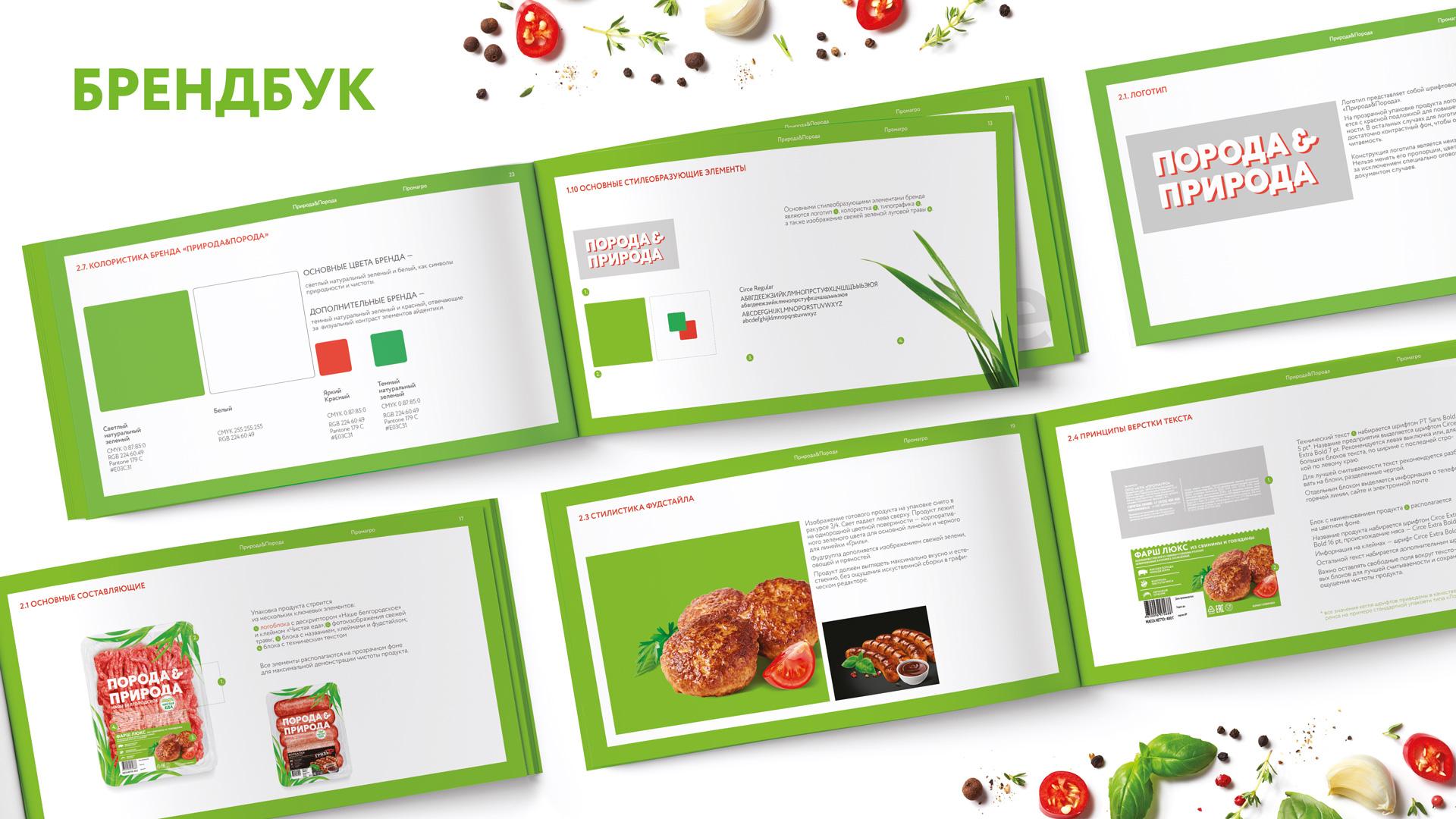 Разработка брендбука для бренда Порода&Природа